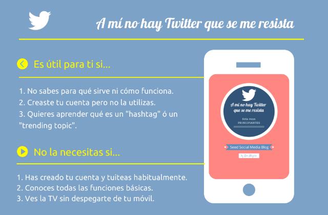 A mí no hay Twitter que se me resista - Guía para principiantes #Twitter
