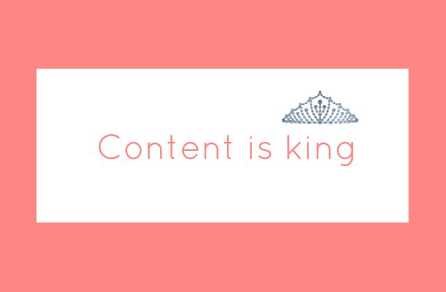 El contenido es el rey #marketing