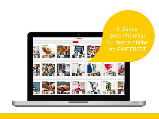 5 claves para impulsar tu tienda online en Pinterest #ecommerce #pinterest