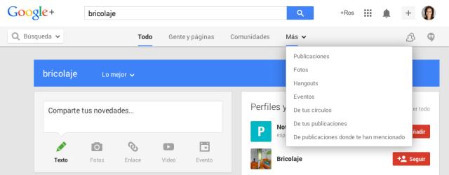 Búsqueda en Google Plus #tutorial #googleplus