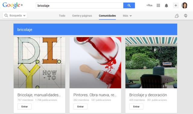 Búsqueda de comunidades en Google Plus #googleplus #tutorial