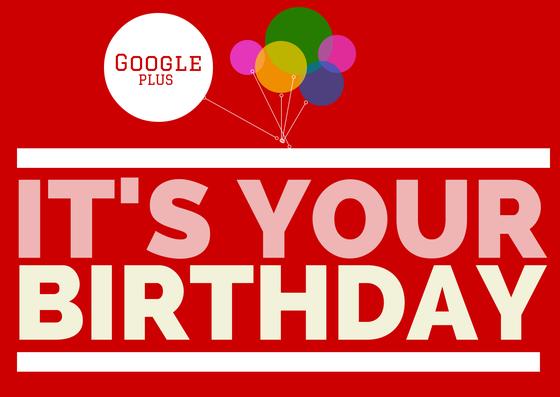 Google Plus cumple 3 años #googleplus